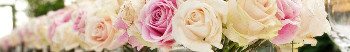 Real flowers wedding
